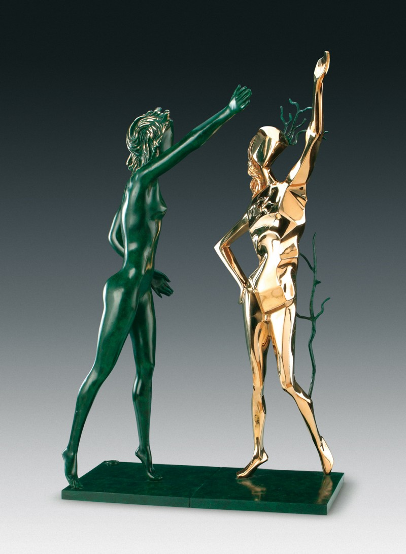 Dali, Homage to Terpsichore